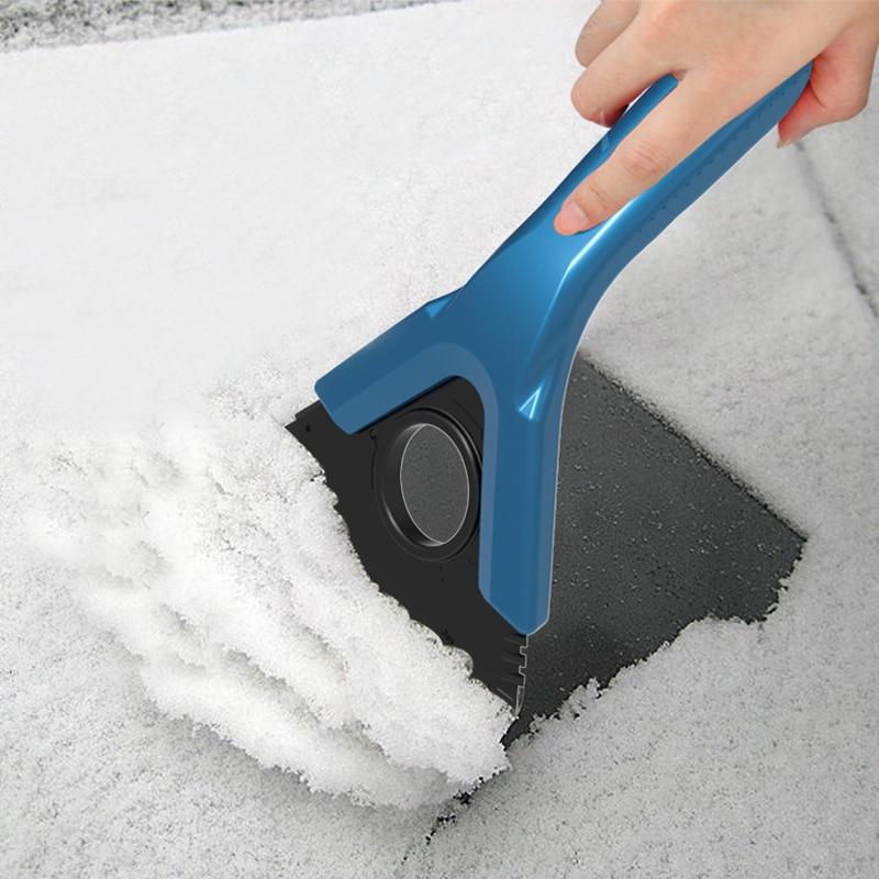Snow removing shovel, snow scraper, snow remover, ice scraper, snow scraping tool