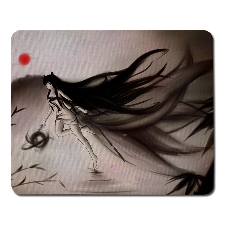 Ahri League of Legends Large Size Mouse Pads Gaming Mousepad Computer Mouse Gaming Mat for CSGO Dota 2 LOL