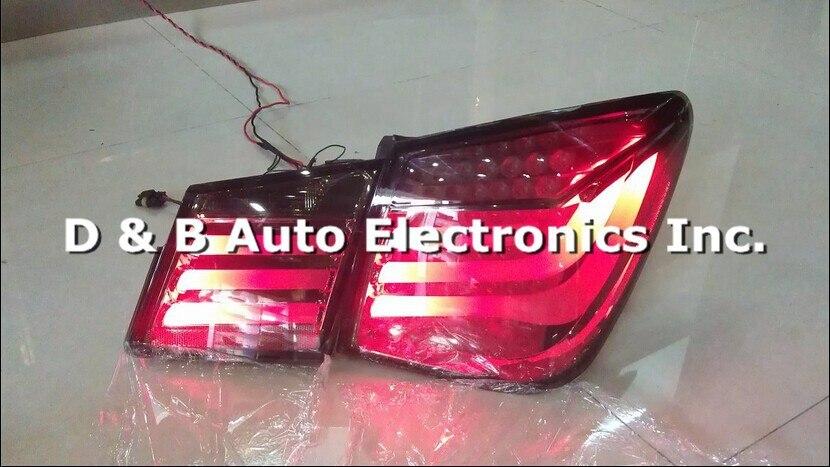 1 пара Высокое качество светодиодный задний светильник s подходит для Chevrolet Cruze 2010'-up