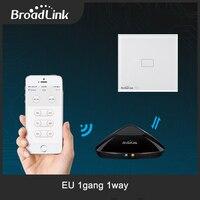 Broadlink TC2 EU Standard 1 Gang Mobile Remote Wifi Light Lamps Wall Switch Via Broadlink Rm2