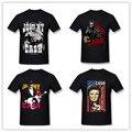 Hombres Johnny Cash Pistolas A Ciudad Camiseta de Mover de un tirón el Pájaro dedo de Adulto Negro de Los Hombres de La Camiseta Mens Al Por Mayor Camisas Más El Tamaño S-3XL