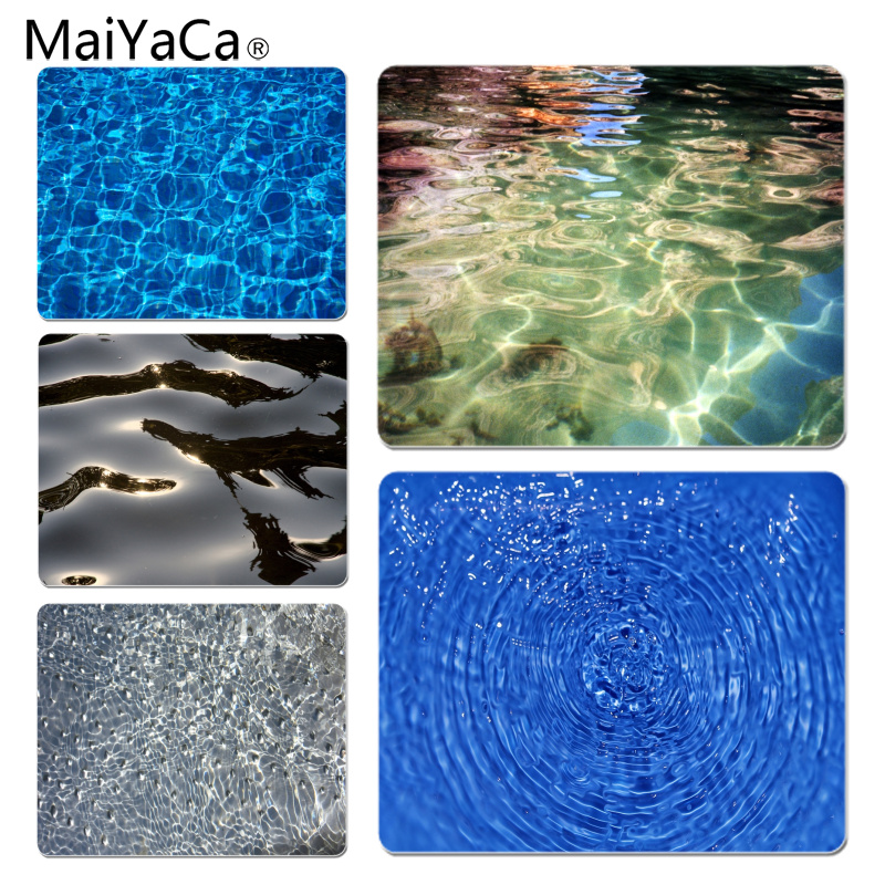 MaiYaCa Personalized Cool Fashion Rippling water surface Office Mice Gamer Soft Mouse Pad Size for 250x290x2mm Small Mousepad