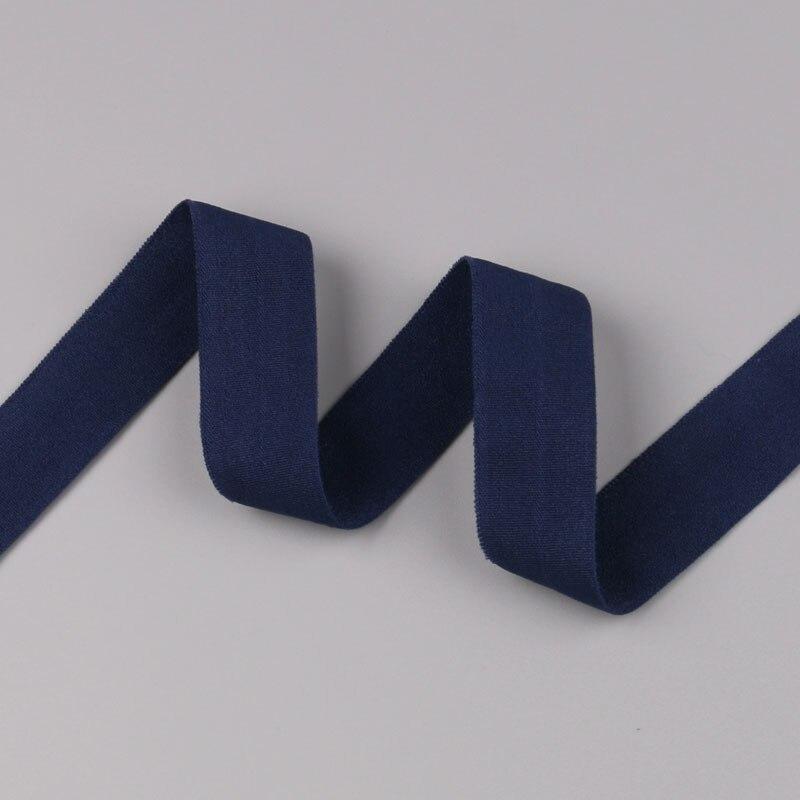 5 ярдов/Лот 20 мм ширина 34 цвета эластичная лента использование для diy аксессуары и одежда галстук лента для волос - Цвет: 28