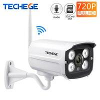 Techege ミニ 1280*720 720P の WIFI IP カメラオーディオ防水 HD ネットワーク 1.0MP wifi カメラ nignt ビジョン屋外ワイヤレスカメラ Yoosee