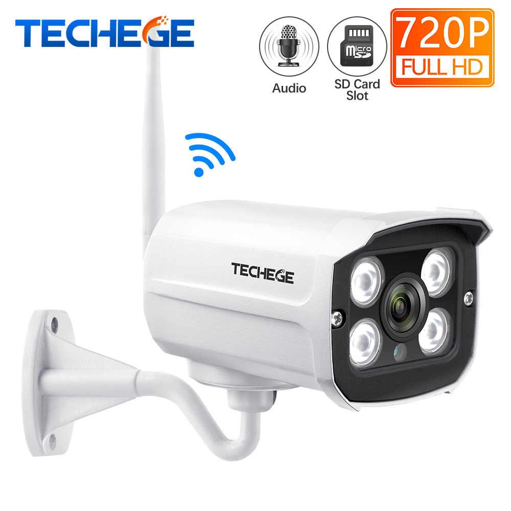 Techege MINI 1280*720P WIFI IP Camera Audio Waterproof HD Network 1.0MP wifi camera nignt vision Outdoor wireless camera Yoosee