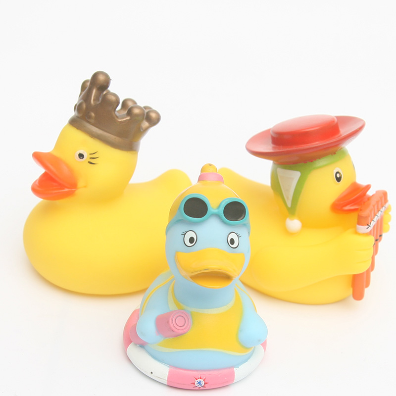 7pcs 2018 NEW floating ducks Cute Baby Water Bath Toys maid/Arab ...