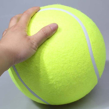9.5 Inches Dog Tennis Ball Giant Pet Toys for Dog Chewing Toy Signature Mega Jumbo Kids Toy Ball For Dog Training Supplies
