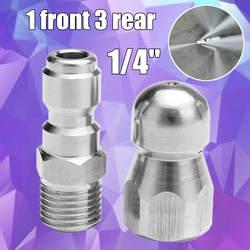 """1 пара 1/4 """"1 передняя 3 задняя дренажная труба высокого давления Dredge сопла Quick Connect"""