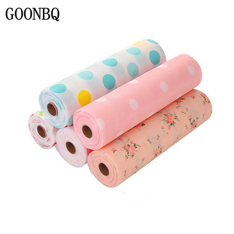 GOONBQ 1 Roll 30*300 cm Drawer Pad PET Waterproof Non-Slip Table Mat Cover Antiskid Heat-insulated Drawer Mat Drawer Liner
