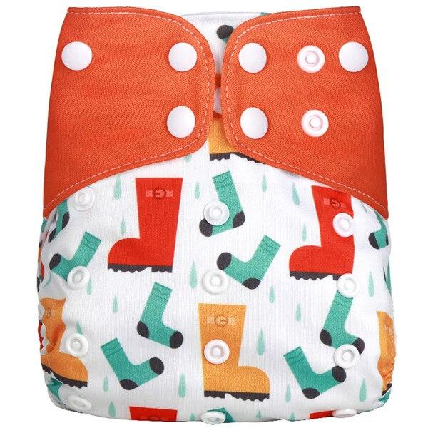 [Simfamily] Новые детские тканевые подгузники, регулируемые подгузники для мальчиков и девочек, Моющиеся Водонепроницаемые Многоразовые подгузники для новорожденных - Цвет: NO1