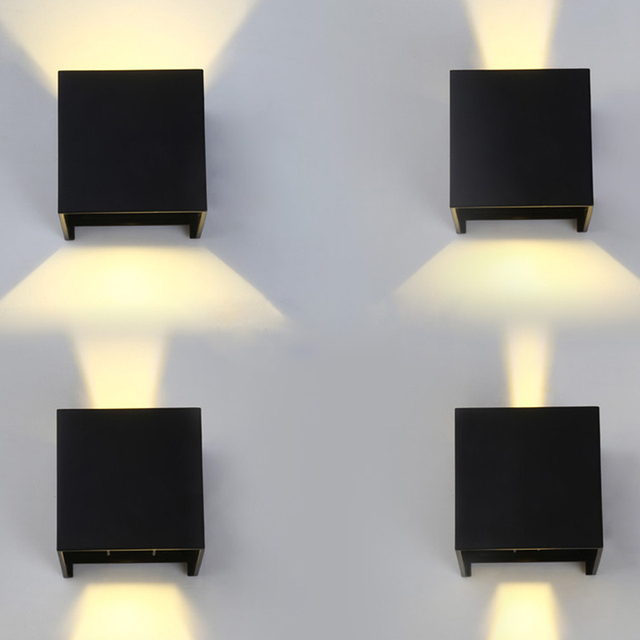 Indoor Garden Lamp 7w led square cube wall light indoor sconce path way garden lamp 7w led square cube wall light indoor sconce path way garden lamp waterproof workwithnaturefo