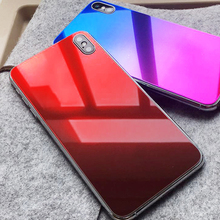 Luxury Colorful Back Film for iphone 6s 8 7 plus XS max XR Protective tempered glass on iphone 7 6S 8 x Screen Protector