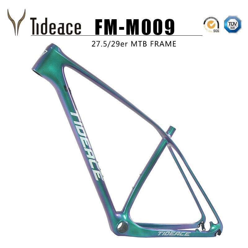 все цены на Tideace UD Chameleon 29er carbon frame Chinese MTB carbon frame 27.5 carbon mountain bike frame 650B disc carbon fiber frame 29 онлайн