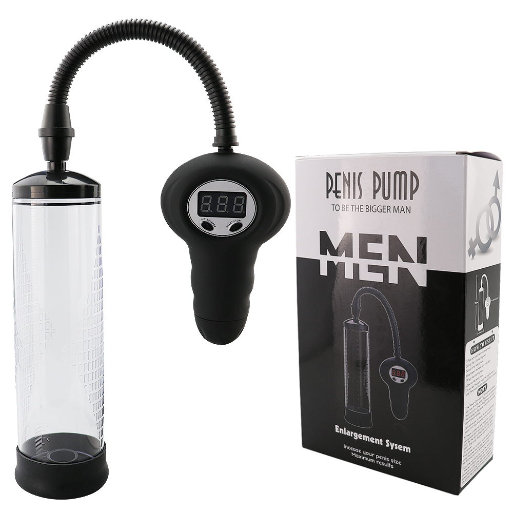 Electric Penis Pump Vacuum Vibrator Train Male Peni Pump Enlarger Extension Sucking Vacuum Sleeve Male Masturbator