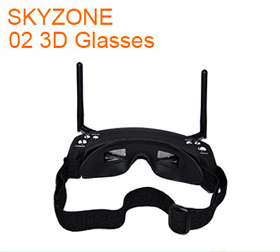 SKYZONE V2 FPV video goggles Built-in 5.8Ghz Dual Diversity 32CH Receiver