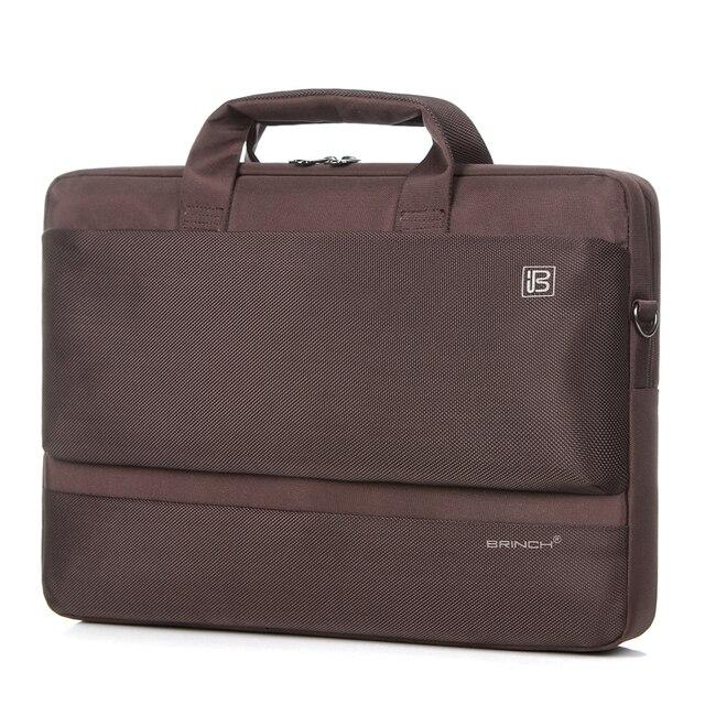 БРИНЧ мешок компьютера 14.6 дюймов 17.3 дюймов 15.6 дюймов для мужчин и женщин плеча сумку для ноутбука BW-203