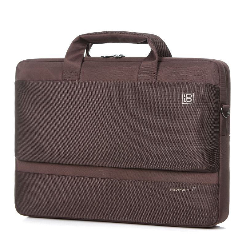 BRINCH computer bag 14.6 inch 17.3 inch 15.6 inch men and women shoulder laptop bag BW-203
