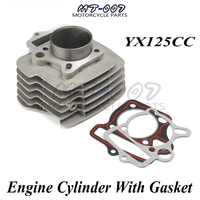 Details about YX125 Engine Cylinder KIT body with cylinder gasket For YX 125cc YINXIANG 125 motorcycle dirt quad bike