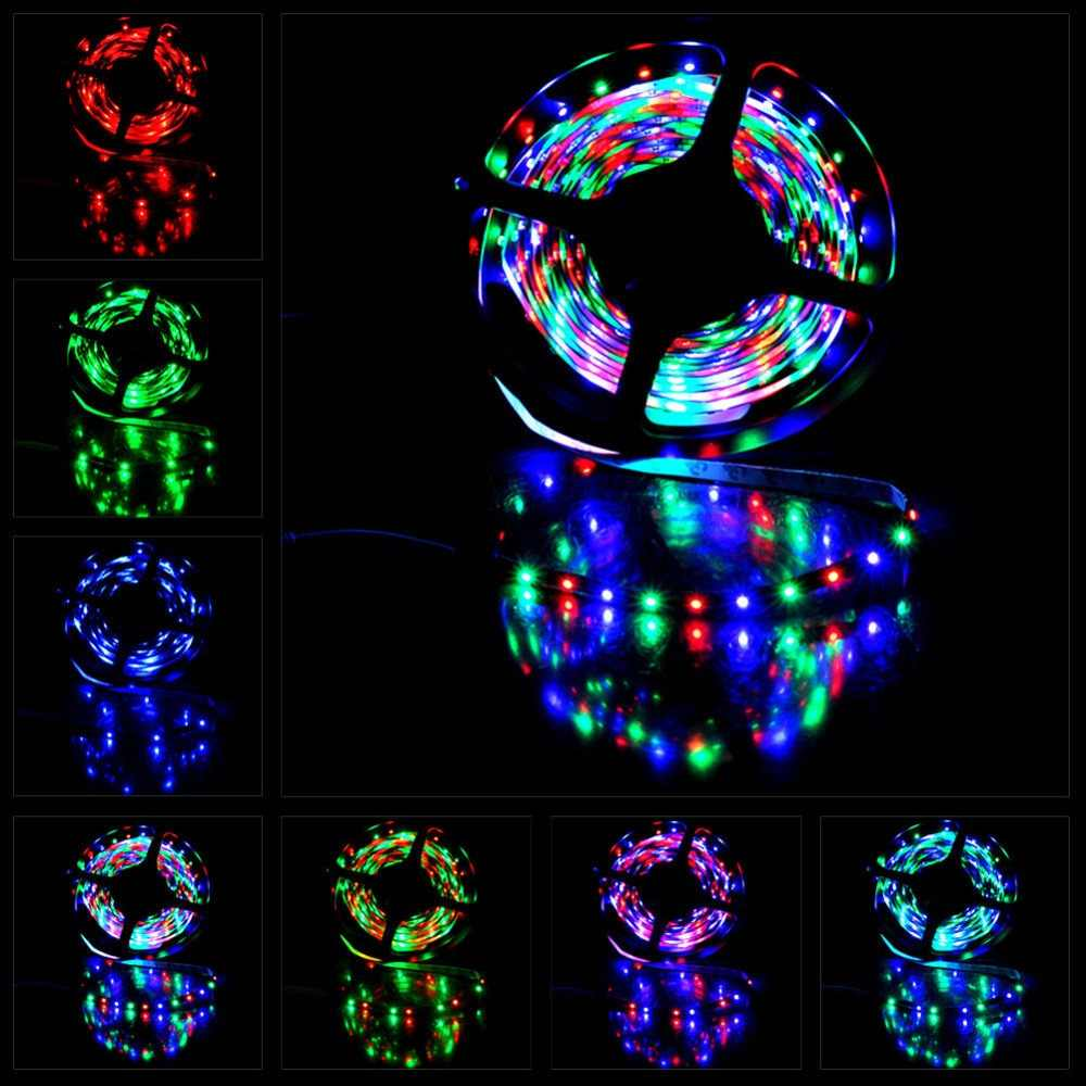 5 m 300 taśmy LED rgb wodoodporna elastyczna 2835 3528 SMD taśmy liny paskiem ciepły biały czerwony zielony niebieski diody wstążka taśma lampy