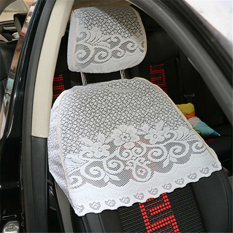 Half Lei mesh seat cover for camry prius yaris for corolla highlander rav4 Lace car seat