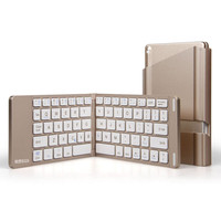 HB022A Upgraded Portable Aluminum Wireless Bluetooth Keyboard For IPad IPhone Bluetooth Keyboard For Mobile Phone