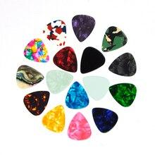 Lots of 100pcs Celluloid Guitar Picks Medium 0.71mm Multi Colors