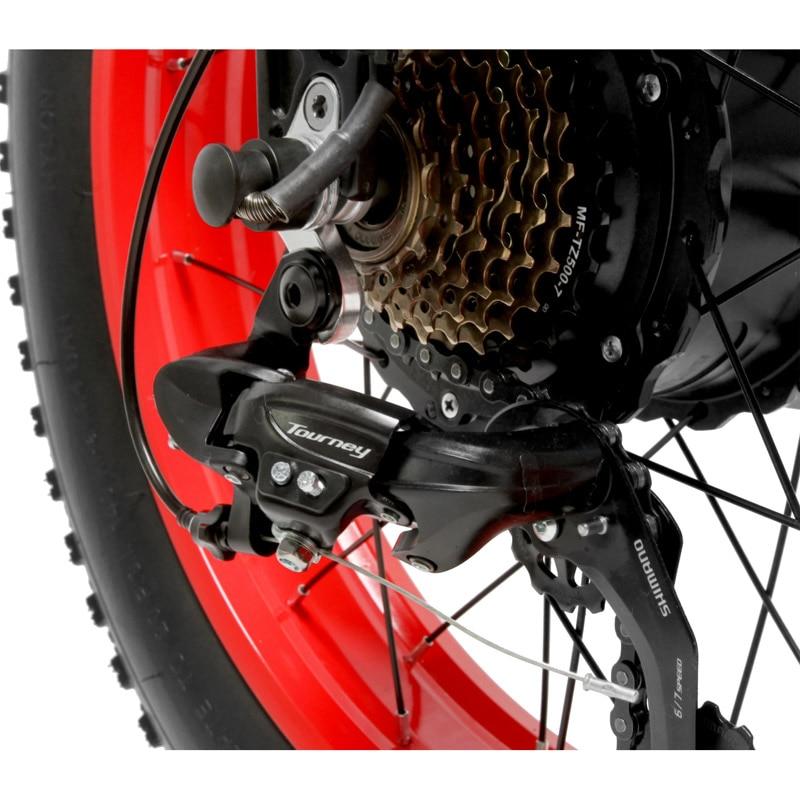 20 Inch Folding Mountain Bike 500W 48V 14 5Ah Lithium Battery Fat Bike Electric Bike 5 20 Inch Folding Mountain Bike 500W 48V 14.5Ah Lithium Battery Fat Bike Electric Bike 5 Level Pedal Assist Suspension Fork