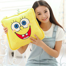 2 in 1  Pillow Quilt  Cartoon plush children during the spring and autumn quilt fold air conditioning is pillow  Free shipping