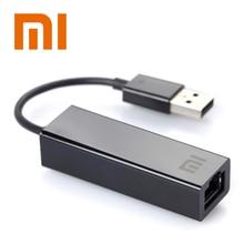 Xiaomi USB 2.zero ethernet adapter USB to RJ45 lan community card for Home windows 10 Eight 8.1 7 XP Mac OS laptop computer PC TV BOX Three Professional 3s Sensible