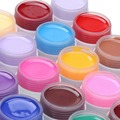 36 Colors Nail Gel Pure Color UV Gel Manicure Gels Nail Polish Nail Art Design DIY Painting Gels semi permanent polish