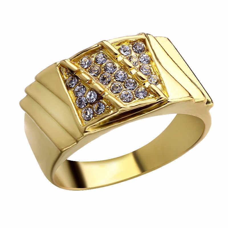 Tuyệt đẹp Cubic Zirconia Wedding Bridal 2 cái Dễ Thương Finger Nhẫn Set Đối Với Người Phụ Nữ Tình Yêu Hôn Nhân Hẹn Hò Trang Sức Nhẫn Bộ
