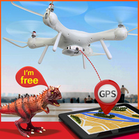 SYMA X25PRO Dual GPS 4 Channel FPV Real Time Quadcopter with 720p HD Wi Fi Camera drone ,gift box, Modular battery