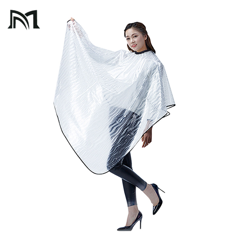 3pcs Soft Lightweight EVA Salon Wrap Water-repellent Cape Modeling Auxiliary Tool Hairdressing Customer Protection Equipment A1