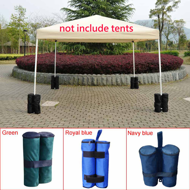 1pc Portable Outdoor Camping Windproof Marquee Leg Weights For Pop Up Canopy Pavilion Tent Sandbag