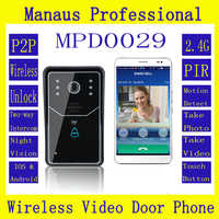 High Quality New WiFi DoorBell Wireless Smart Video Doorbell Home Improvement Visual Door Ring D29b