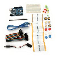 Hot New Mini Breadboard LED Jumper Resistor Kit Module Integrated Circuits Durable Quality New Electric Modules
