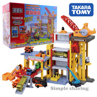 TOMY TAKARA TOMICA Construction vehicle model kit tower crane baby toys mould funny magic educational toys miniature crane truck