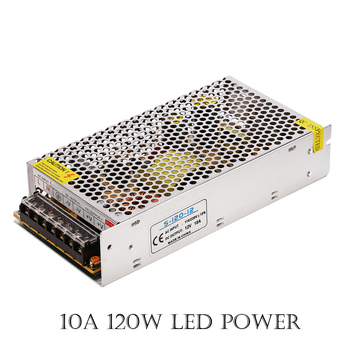 LED Switching Power Supply Driver 85-265V AC input 15W  60W 80W 120W 360W  12V 1.25A 2A 3A 5A 6.5A 10A 30A  Power Supply chux switching power supply 120w 12v small volume led strip light ac to dc ms 120w 12v single output 10a power suppyliers