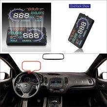Liislee для KIA Forte/Soul-безопасного вождения Экран автомобилей HUD Head Up Дисплей проектор отражающий лобовое стекло