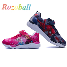2019 Spring New Children Shoes Girls Sneakers Princess Kids Shoes Fashion Casual Sport Running Leather Child Shoes for girls in the spring of the new brand princess girls shoes shoes fashion bud children shoes