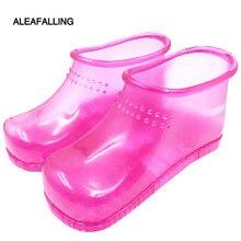 Aleafalling полиэстер ванна для ног обувь Массажная обувь унисекс ноги Тапочки Ванна Массаж зимние ванна для ног здравоохранения Ванная комната SC016