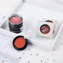 1PC Single color Matte Eye Shadow Powder Waterproof Smudge-Proof Long Lasting Velvet Eyeshadow Cosmetic