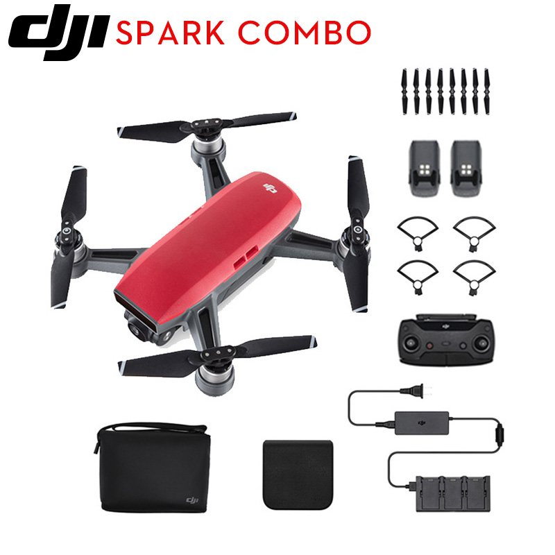DJI Spark fly more combo mini smart FPV WiFi Pocket Handheld Selfie Drone With 1080P HD Camera Gesture control