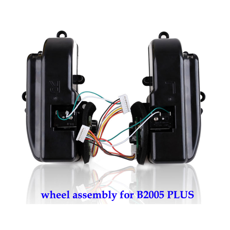 (For B2005 PLUS,B3000PLUS) Left & Right Wheel Assembly for Robot Vacuum Cleaner, 1 Pack Includes 1*Left Wheel + 1 Right Wheel