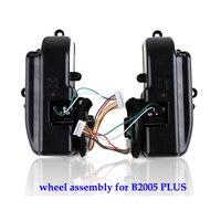 (Para B2005 PLUS  B3000PLUS) Montaje de rueda izquierda y derecha para aspiradora Robot  1 paquete incluye 1 * rueda izquierda + 1 rueda derecha