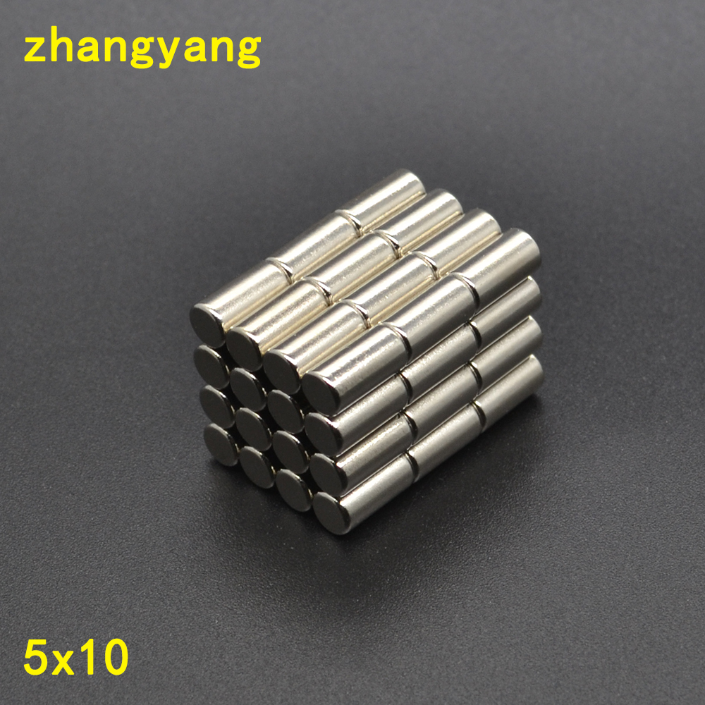 20mm x 10mm with Hole 5mm Very Strong Rare Earth Neodymium Round Disc Magnet N35