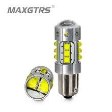 2x супер яркий BA9S светодиодный автомобильная лампа авто светодиодный T4W Клин W5W Cree чип Bax9s поворотов подкладке лампы Парковка DRL 6000 K белый