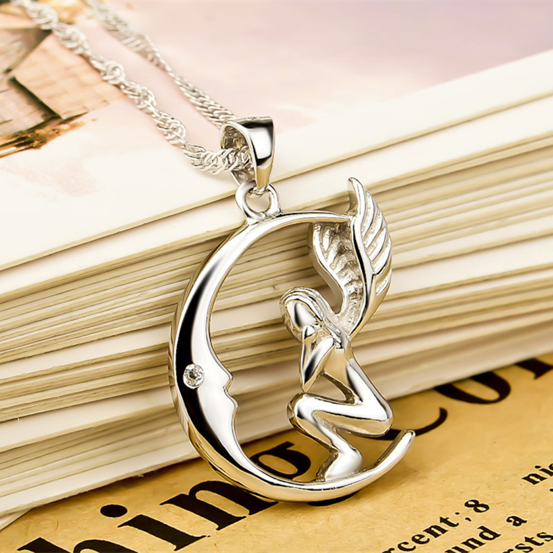 YFN Real 925 Ασημένιο κολιέ Κρεμαστό - Κοσμήματα μόδας - Φωτογραφία 4