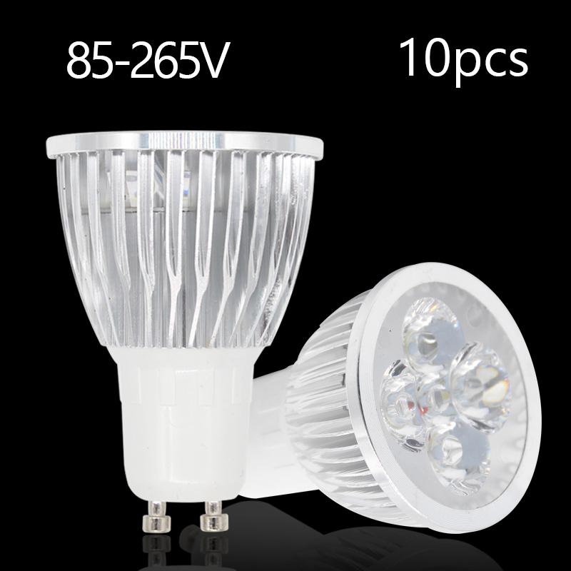 10pcs Ampoule Led Spotlight GU5.3 220V Lampada De Led Bulbs Light Bulb GU10 AC85-265V High Power 3W 4W 5W 110V Lamparas LED Lamp