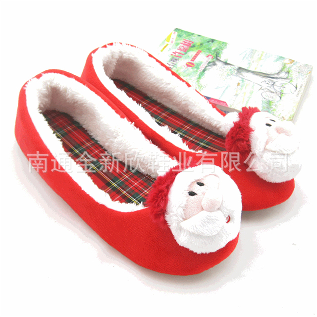 lovely ballet shoes home womens santa claus style winter girls